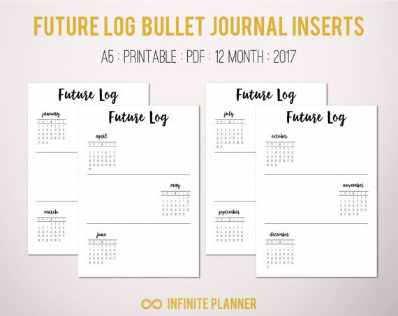 future log a5  2019
