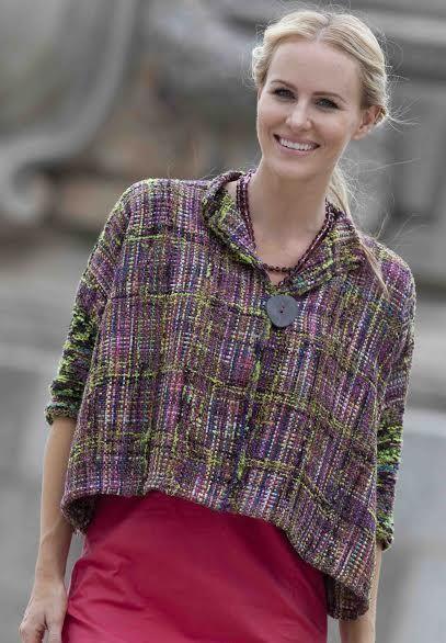 Diseño Ropa Simply Fabulous para Rígido Liza y Otros Weavers | PUNTADAS West Registro | Knitting Universo
