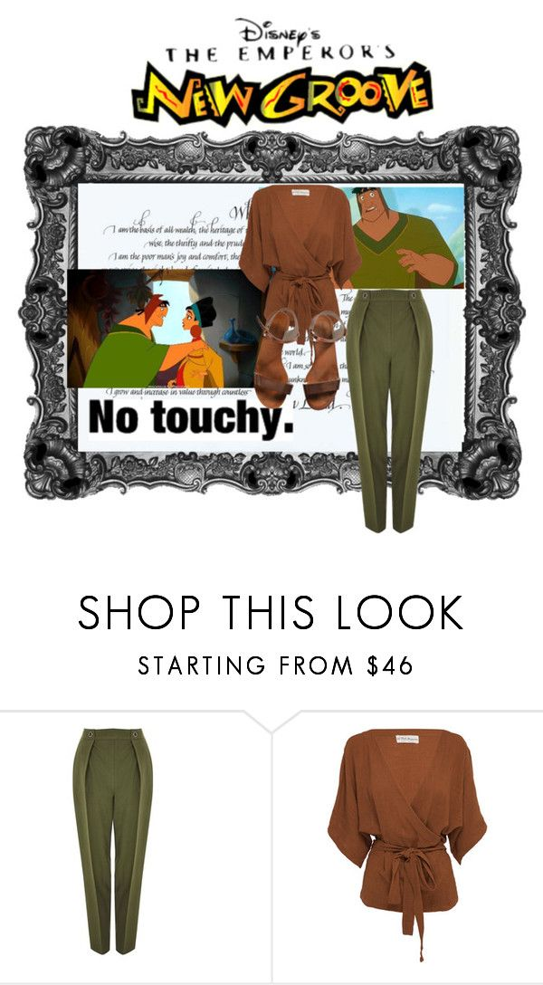 """""""Pacha- Emperor's new groove"""" by lexi-brannon-uta ❤ liked on Polyvore featuring Disney, Topshop, All That Remains and Emporio Armani"""