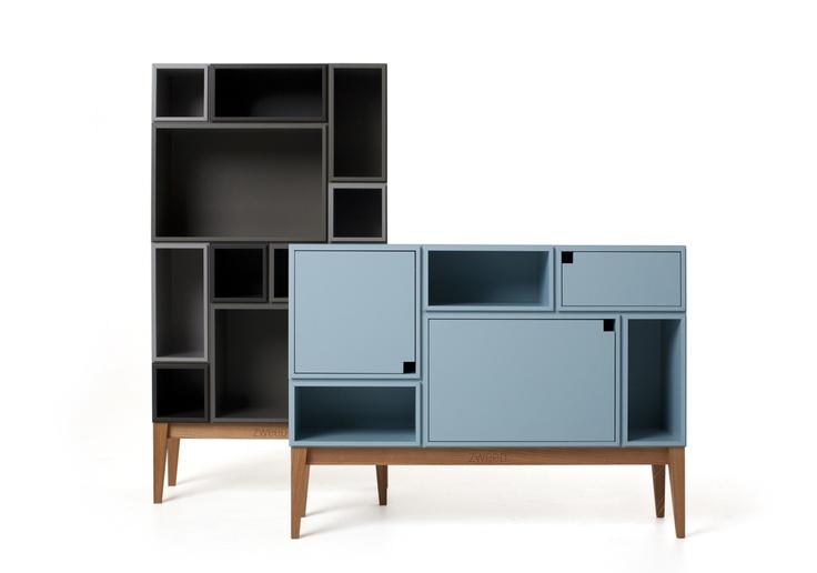 Zweed - modular storage consoles