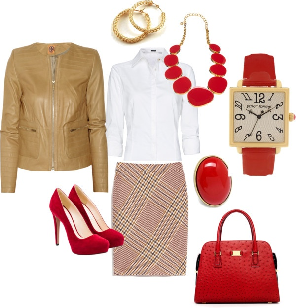 """""""Fall work clothes"""" by lara-hoke-hise on Polyvore"""