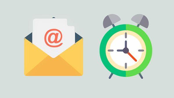 أروع 7 مواقع بريد مهمل لإنشاء بريد إلكتروني لمدة مؤقتة Email Sites Timer Wall Clock