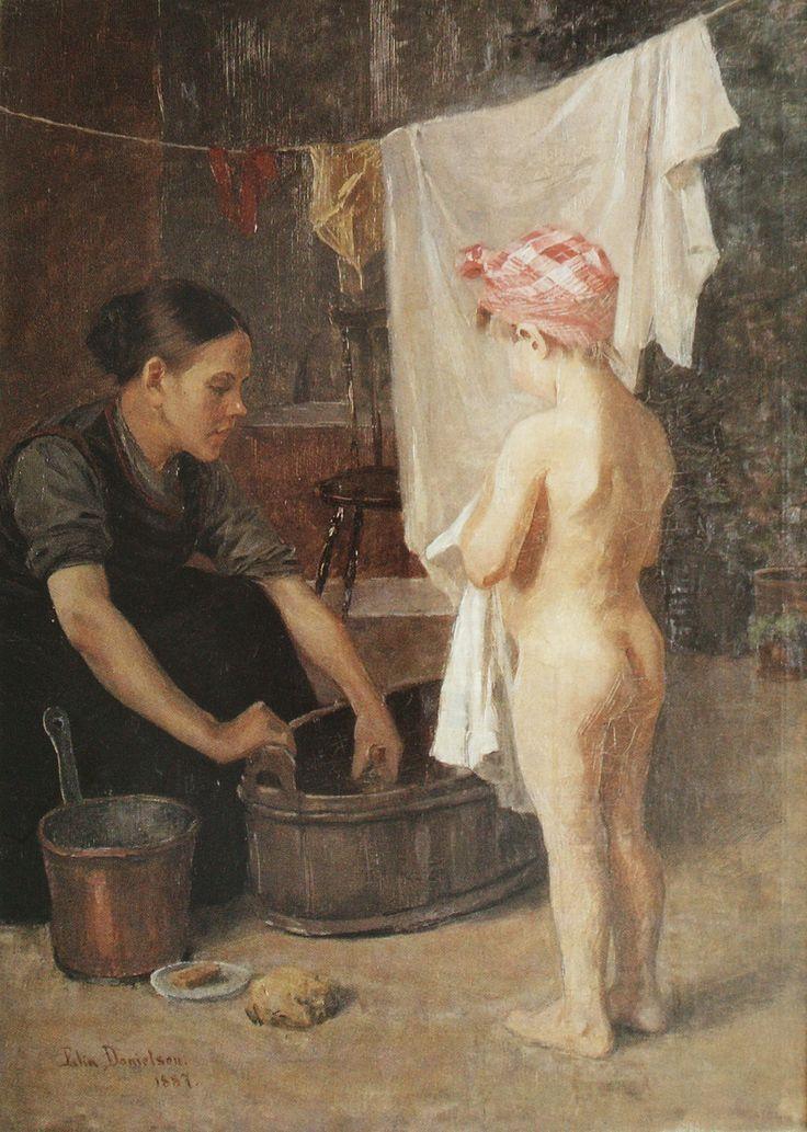Elin Danielson-Gambogi 1861-1919 - Bath.