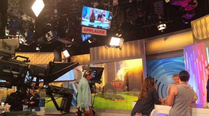 Behind the Scenes of The Jojoba Company filming at Studio 10