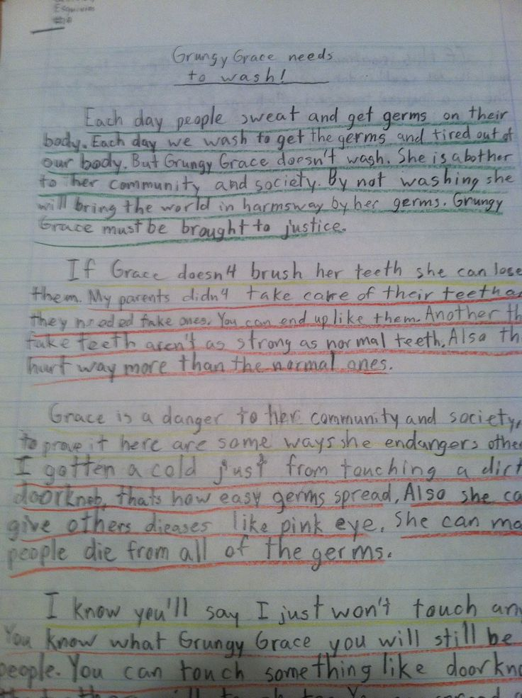 writing research papers grade 5