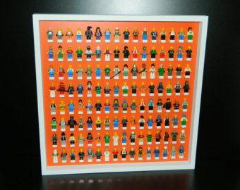 Dejar de lado el caso de exhibición para minifigura LEGO minifig lego, starwars lego, lego pantalla, estantes minifigura