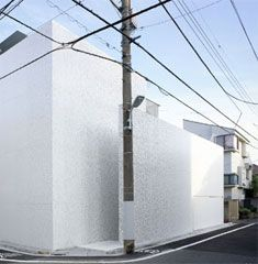 The Sakura house is a home office for a couple in a residential neighborhood in Meguro, Tokyo. Mount Fuji Architects Studio
