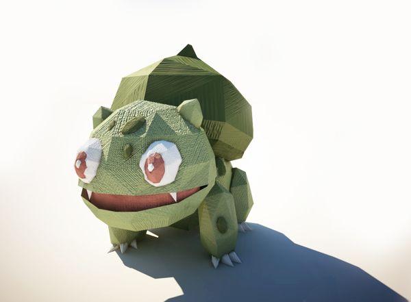 Pokémon em 3D: poucos polígonos, muita simpatia