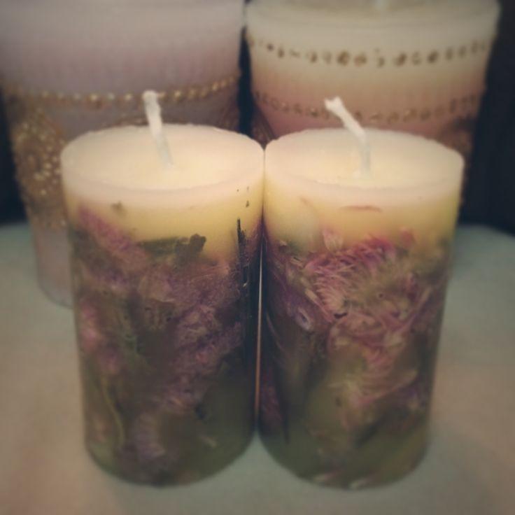 Dokonce iv sušených květin svíčky, jak se dělá ♪ dar ◎ - curet [kyretou] Přehled