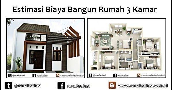 Desain Rumah Minimalis Dengan Biaya 50 Juta 2019 Cek Bahan Bangunan