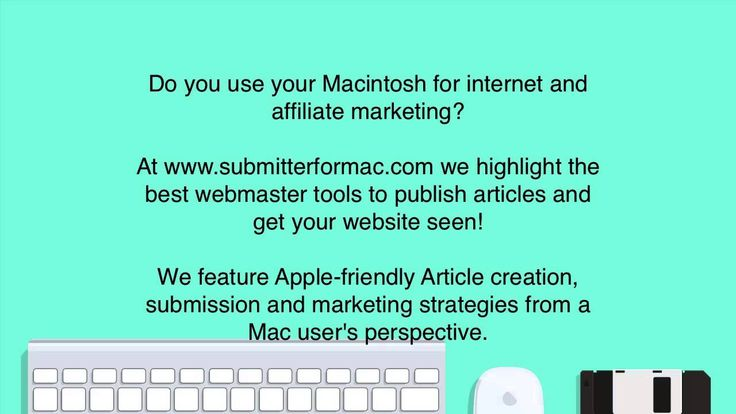 Mac Article Marketing software, tips and SEO strategies to build your brand, reputation and backlinks. http://www.submitterformac.com/articles/mac-article-submission.html