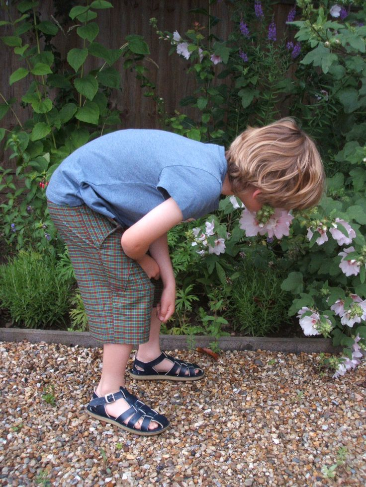 Fiona Bell's Vintage Style for Kids - Madras check shorts