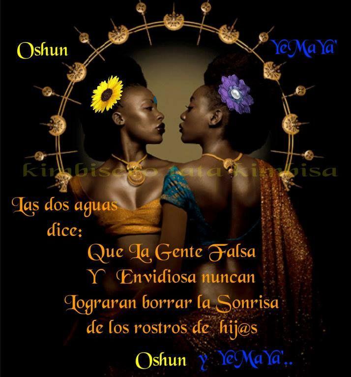Ochun Y Yemaya Las Dos Aguas!!!