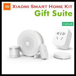 New Xiaomi Smart Home Kit Gift Suite Security System Gate way Wireless Switch Body Sensor Zigbee Plug Door Window Sensor (32784514980)  SEE MORE  #SuperDeals
