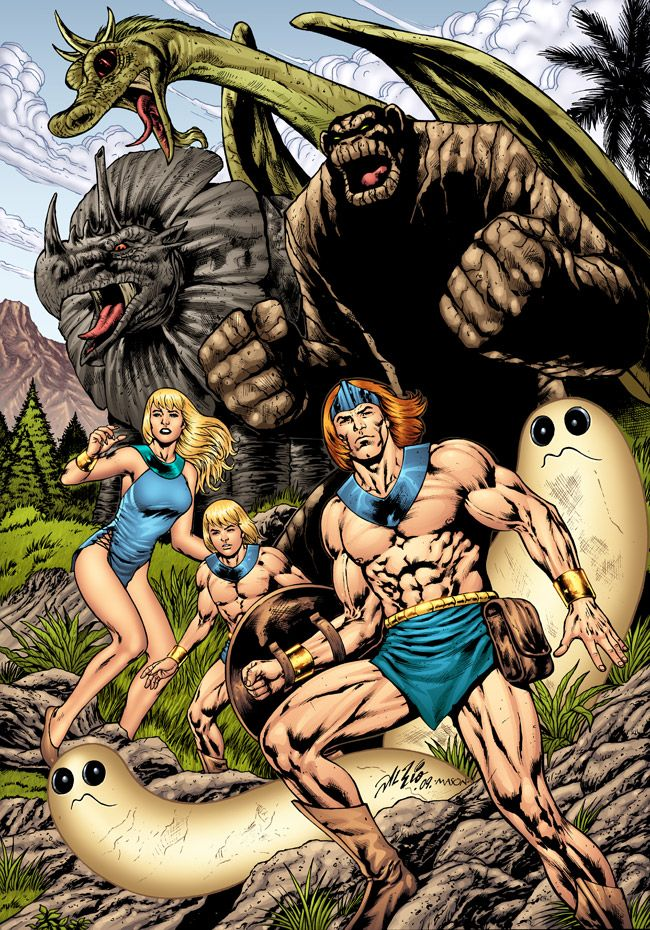 Herculoids by Al Rio...loved this show when I was little!!