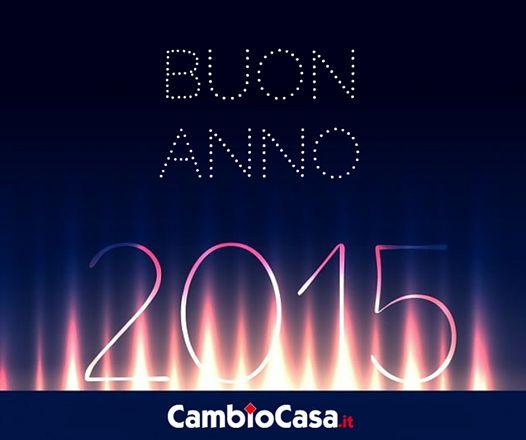 Buon Anno da www.CambioCasa.it #Capodanno