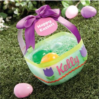 Milk Jug Easter Basket - cute idea for class Easter party