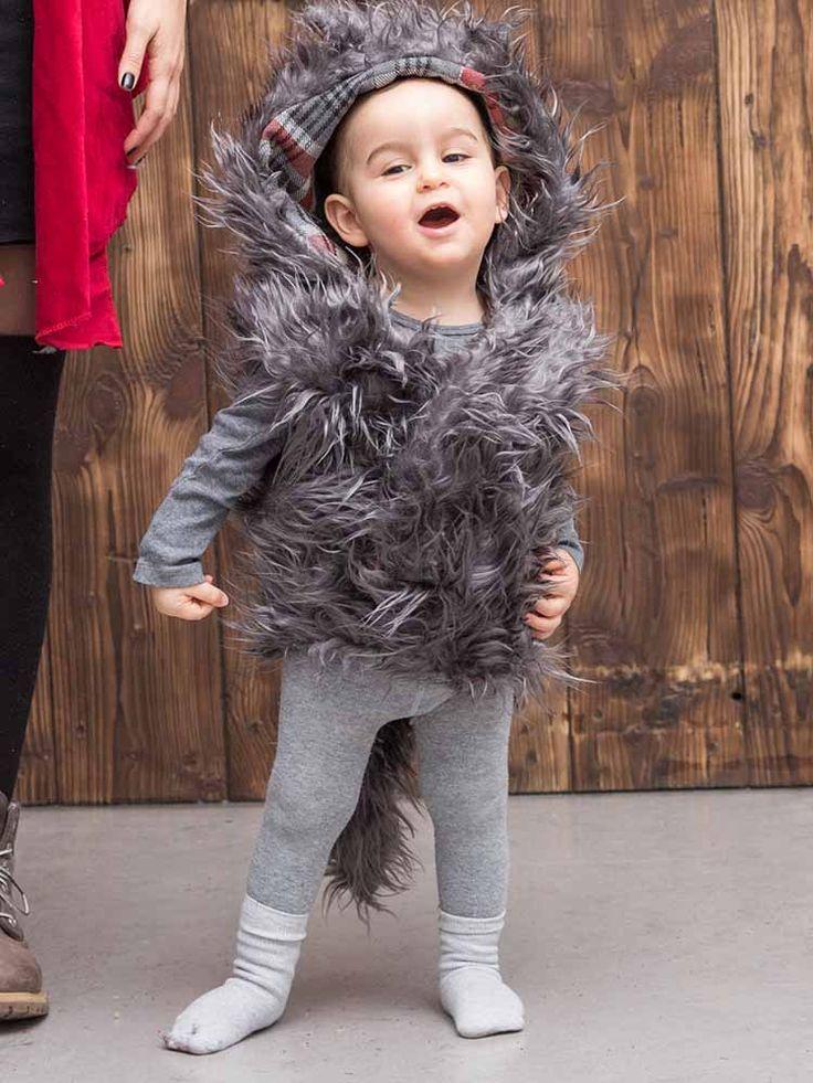 DIY-Anleitung: Mutter-Kind-Kostüm nähen: Rotkäppchen und der Wolf via DaWanda.com