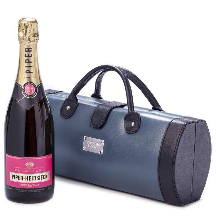 Piper Heidsieck Rose Traveller   Champagne and Wine Gifts   Champagne Hampers - Bockers and Pony
