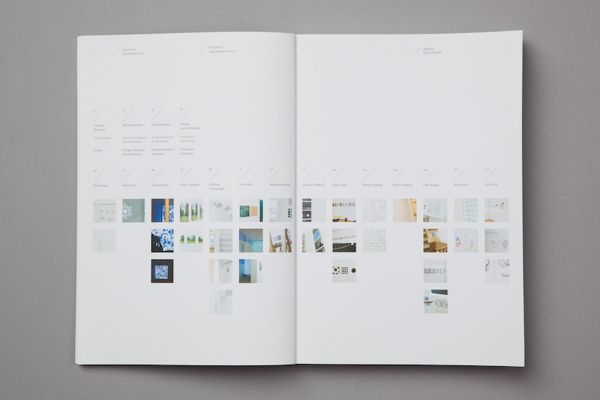 Ornament and Design Process by Pouya Ahmadi, via Behance - table of contents