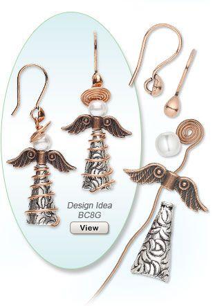 Christmas Earring Design Idea BC8G