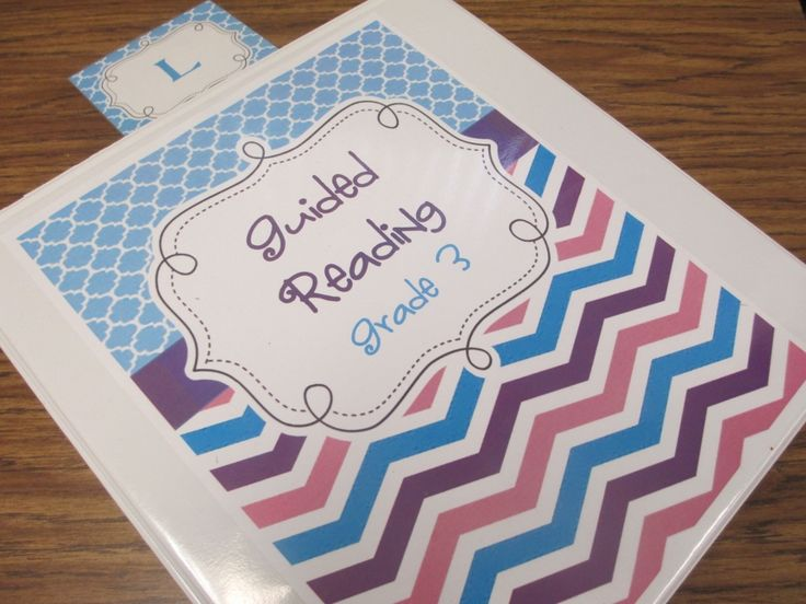 Guided Reading Organization Made Easy- lesson plan templates, video showing excellent organization of materials