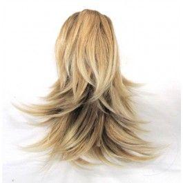 Extension Rajout Cheveux Dégradé Blond