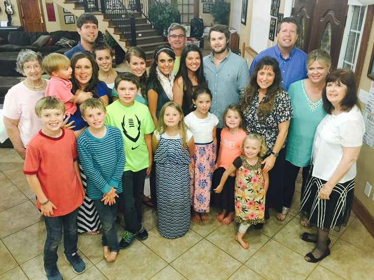 The Duggars celebrating Amy Duggars engagement