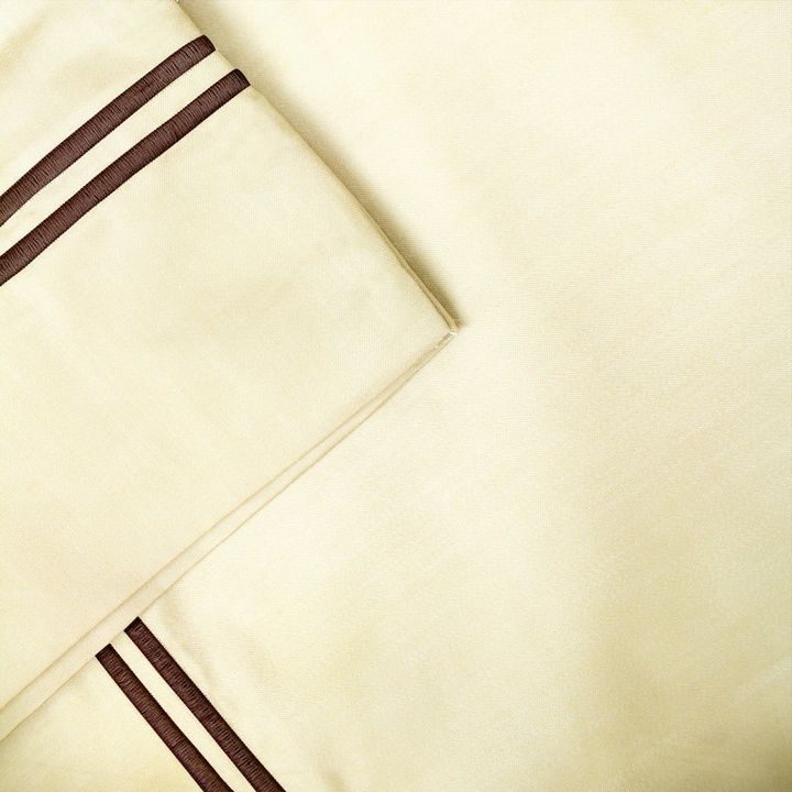Double Marrow Hem 1000 Thread Count 6-piece Sheet Set