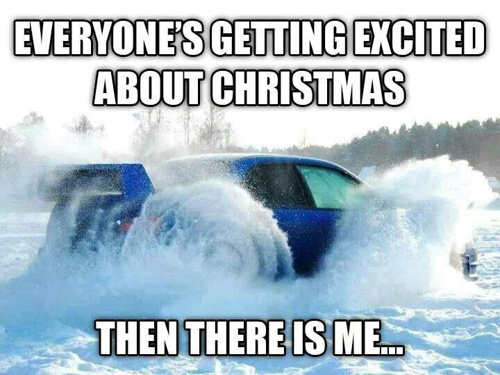 Everyone's getting excited about Christmas. Then there is me... Subaru vs. Winter Roads | Luther Bloomington Subaru. Subaru in the snow. Ice roads. All-Wheel Drive. AWD. Subaru for sale Minnesota. Twin Cities. Minneapolis.