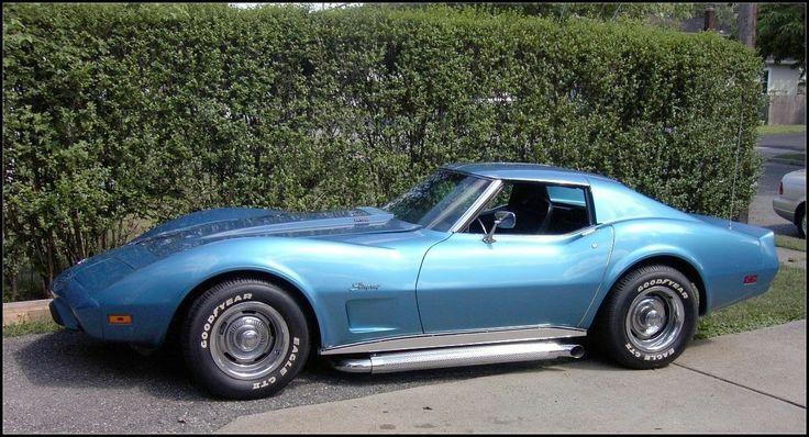 1975 Corvette Steel Blue