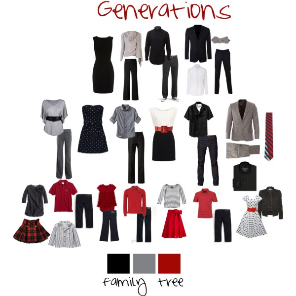 Picture Day Outfit Ideas | Love is Love Edition -- Family Tree