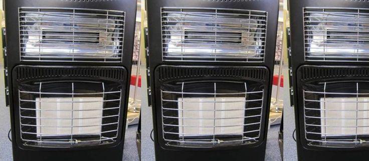KONTROLL AV GASSOVNER: Det er slike ovner som skal testes: gassvarmeovner med el-tilkobling. (Foto: DSB)