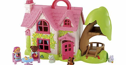 Early Learning Centre HappyLand Cherry Cottage The 2-storey ELC HappyLand Cherry Lane Cottage is the perfect first dolls house for your toddler. It comes complete with 2 cute characters, 3 pets and furniture. It opens right up for easy toddler acc http://www.comparestoreprices.co.uk/baby-toys/early-learning-centre-happyland-cherry-cottage.asp