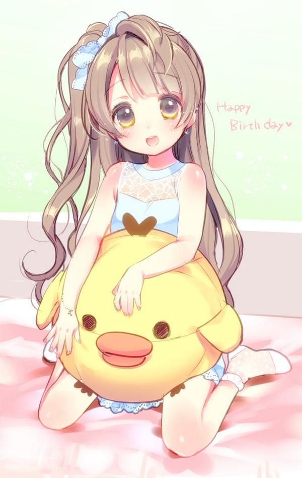 Kotori from Love Live! I loved this anime but I hated all the fan service =3=