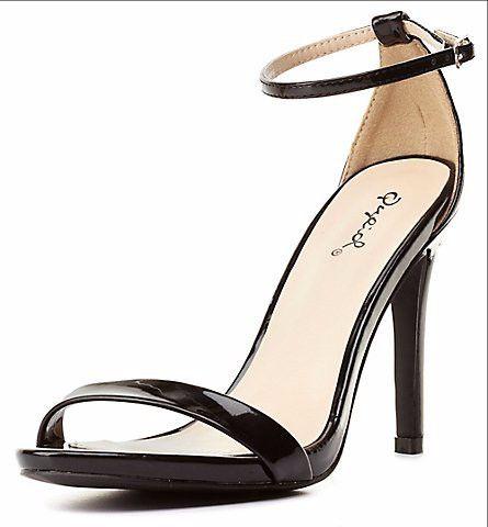 Grammy Heel - Black – Zelle Boutique