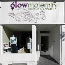 Glow Maternity Studio and Apparel is a warm and welcoming maternity and baby boutique that has become a hub for all things mother and baby in Peterborough, Ontario. My friends Shaunacy and Chris opened Glow Maternity in August of 2009. Last year, I launched the second Canadian edition of The Mother of All Pregnancy Books at their store.