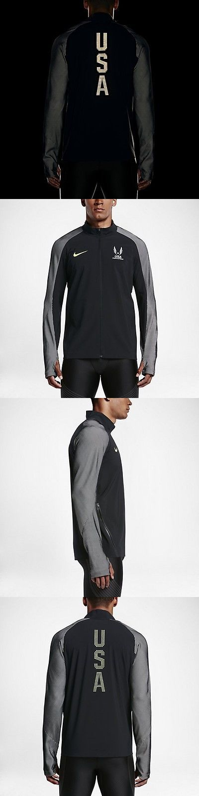 Jackets and Vests 59353: Men S Nike Running Usa Track And Field 2016 Olympic Trials Podium Jacket S Usatf -> BUY IT NOW ONLY: $149.99 on eBay!