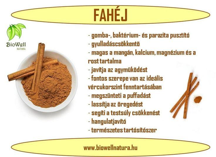 A fahéj és jótékony hatásai