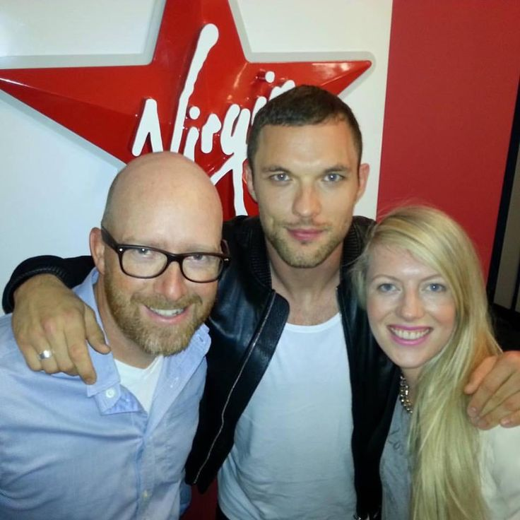 So awesome to meet @edskrein today @VirginRadioTO! #NicestGuyEver #TheTransporter @TheTransporter