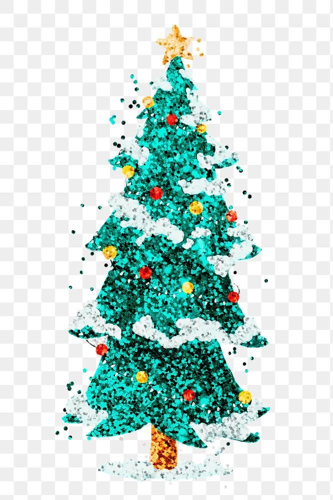 Download Premium Png Of Sparkle Christmas Tree Png Sticker Hand Drawn How To Draw Hands Free Illustrations Christmas Stickers