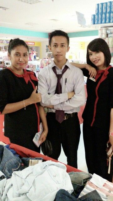Ready to go home.... With. Debby n Kak Rose.