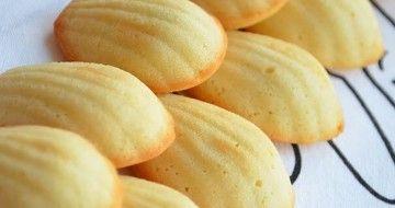 """Biscuiți delicioși de casă """"Madeleine"""" în 15 minute"""