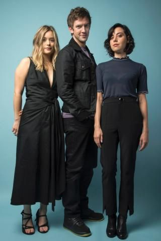 Rachel Keller, Dan Stevens, Aubrey Plaza of Legion photographed during New York Comic Con on Sunday October 9, 2016 at Fairfield Inn & Suites New York Midtown Manhattan.