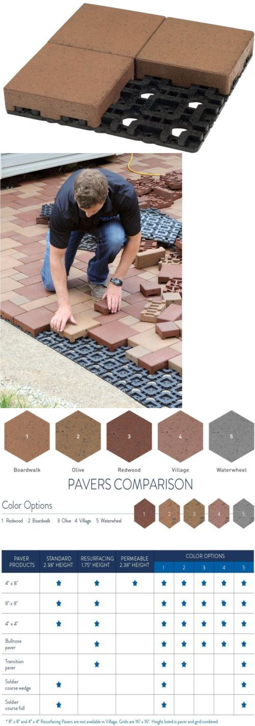 Pavers and Step Stones 118859: Azek 8 In. Boardwalk Composite Standard Paver Grid System (4 Pavers And 1 Grid) -> BUY IT NOW ONLY: $36.99 on eBay!
