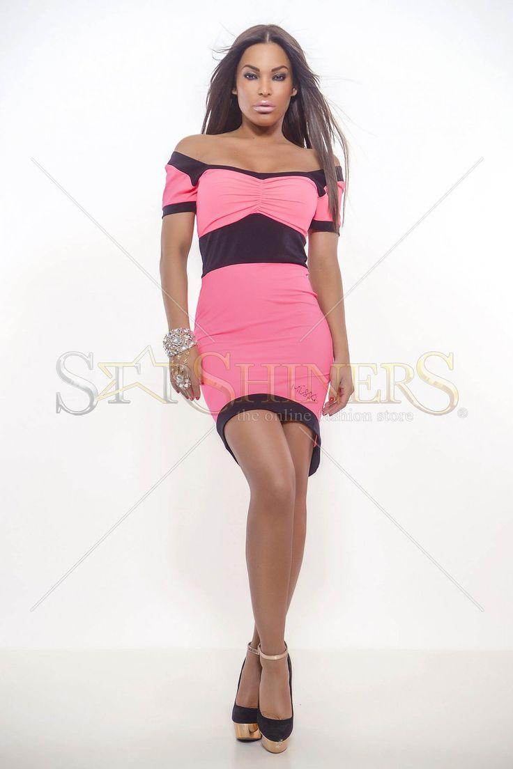 MissQ Dashing Girl Coral Dress