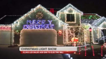 Local Man Takes Holiday Lights to the Max (NBC33 VIDEO) | Indiana's NewsCenter: News, Sports, Weather, Fort Wayne WPTA-TV, WISE-TV, and CW |...