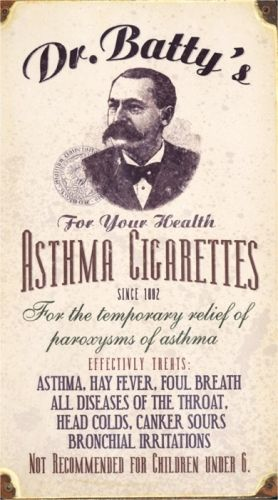 for the temporary relief of paroxysms of asthma