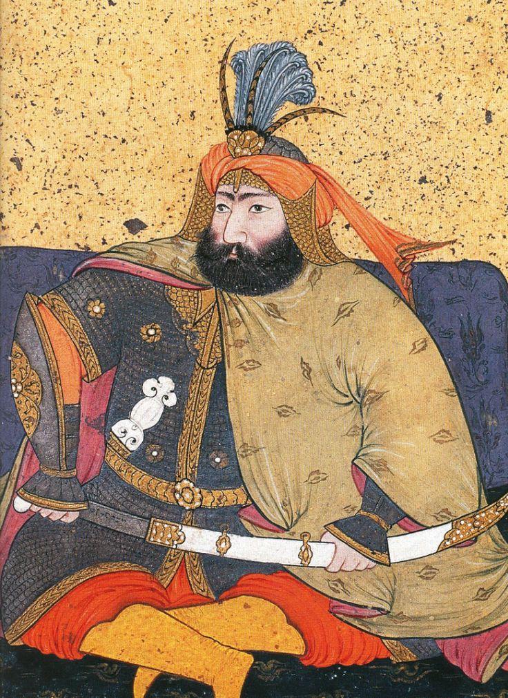 IV. Murat Levnî, Kebir Silsilenâme, Topkapı Sarayı Müzesi,