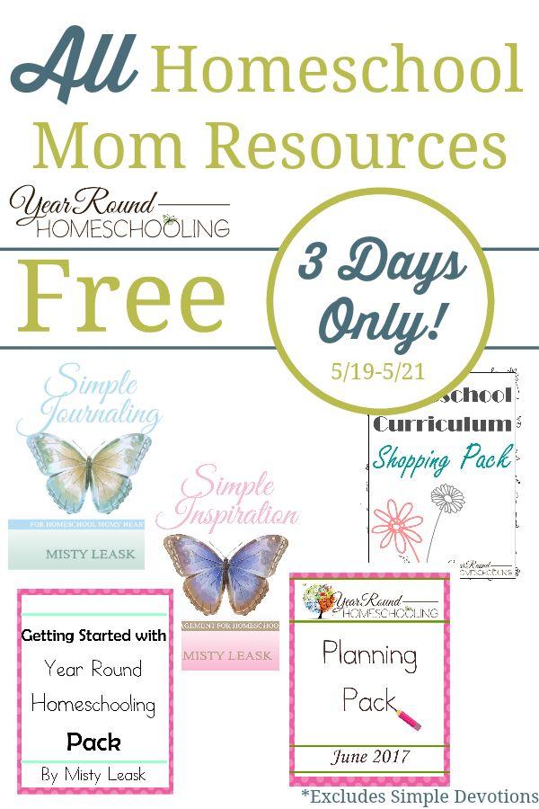 Homeschool Printables For Mom